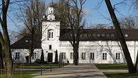 Biała Podlaska. Oficyna Zachodnia w Parku Radziwiłłów