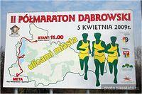 II Półmaraton Dabrowski - Dąbrowa Górnicza