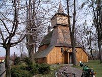 zabytkowy kościół w Nidku