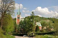Porąbka Uszewska - Kościół św. Andrzeja Apostoła
