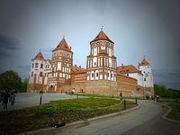 Zamek Radziwiłłów w Mirze