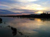 Widok z sandomierskiego mostu