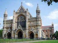 Katedra w całej okazałości St. Albans