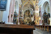 Mostów - Wnętrze Kościóła Matki Bożej Miłosierdzia
