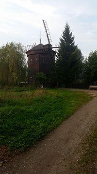 Wiatrak w Kiekrzu