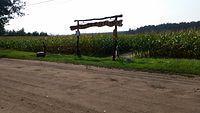 Przystań rowerowa - brama