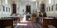 Wnętrze kościoła w Witulinie