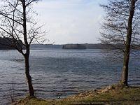 Wyspa Miłości na Jeziorze Raduńskim Górnym