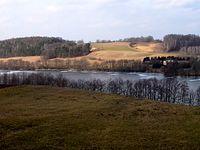 Kaszubskie krajobrazy okolic Chmielna