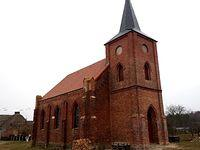 Kościół poewangelicki z 1896 r. w Dolicach a od 1945r cerkiew prawosławna