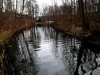 Kanał łączący Jeziora Szeląg Duży i Mały - Stare Jabłonki