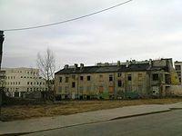 Kradziejów piaseczyński przestaje istnieć, pożydowskie czynszówki poszły pod kilof, teren splantowano, będą nowe domy?