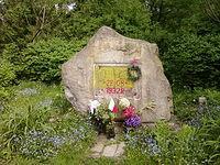 Kamień pamiątkowy na Młynku