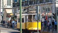 Słynny żółty tramwaj