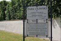 W Parku Oliwskim jest zakaz jazdy na rowerach