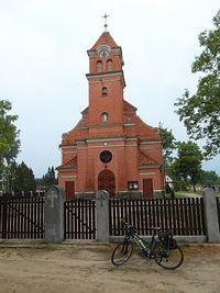 Kościół w Osiecznej- Bory Tucholskie