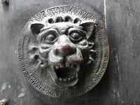 Ozdoba drzwi kościelnych- Piaseczno