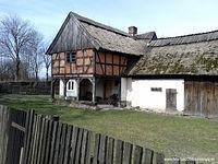 Stary dom podcieniowy w Łęczu