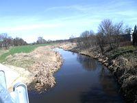Fotka z mostu na Kanale Łasica