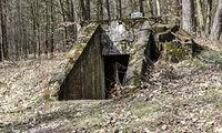 Bunkier w lesie Wiączyńskim
