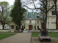 Wilanów - plebania kościoła św. Anny