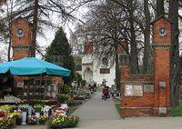Brama cmentarza wilanowskiego