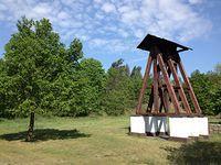 Herburtowo - dzwonnica z XX wieku