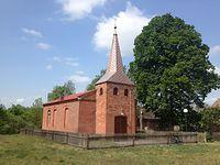 Kościół w Chełście - przy trasie w kierunku Kwiejc