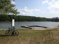Jezioro Piast w Kwiejcach