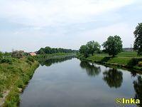 Odcinek kanału Gliwickiego