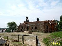 Ujazd, ruina zamku
