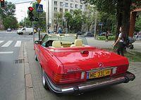 Mercedes na Madalińskiego