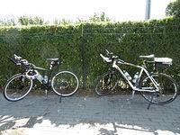 Rowerki na przerwie w Jarocinie