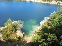 Jezioro w Kamieniołomach - Piechcin