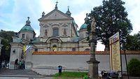 Sanktuarium świętej Rodziny W Poświętnem - jedno z najważniejszych miejsc dzisiejszej wycieczki