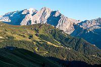 Marmolada- najwyższy szczyt Dolomitów