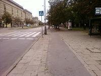 Dawna droga rowerowa przy Wojska Polskiego