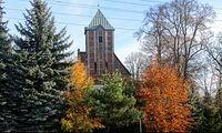 Kościół na skraju Polic - dawna Jasienica