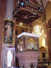Ambona w Kościele pod wezwaniem Świętej Trójcy w Kochłowicach