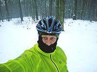 Śniegowe selfie