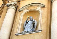 Kościół św. Marcina - rzeźba bł. Izajasza Bonera