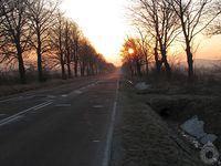 Powolny wschód słońca w Pielgrzymce