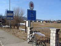 W drodze do Lasówki zaliczamy granicę polsko - czeską, czyli Czechy juz też mamy  ;)