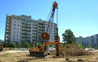 Hyundai na budowie POW