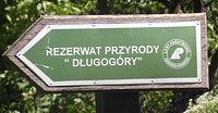 Tabliczka we wsi Chłopowo
