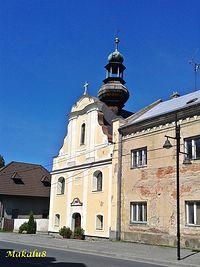 Zlate Hory kościół 2