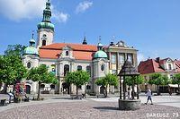 Pszczyna - Rynek (Kościół Ewangelicko-Augsburski)