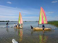 Jezioro Kaliszańskie - obóz żeglarski