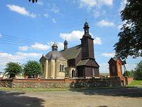 Potulice - drewniany kościół