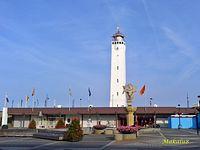 Noordwijk,Holandia,latarnia morska